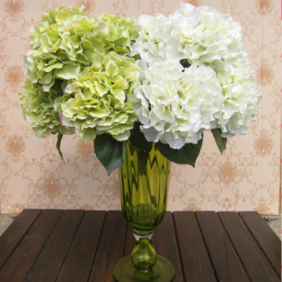 5 Artificial Craft Hydrangea Bouquet Party Home Wedding