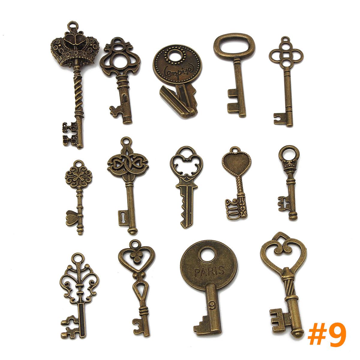 vintage style key set - photo #19