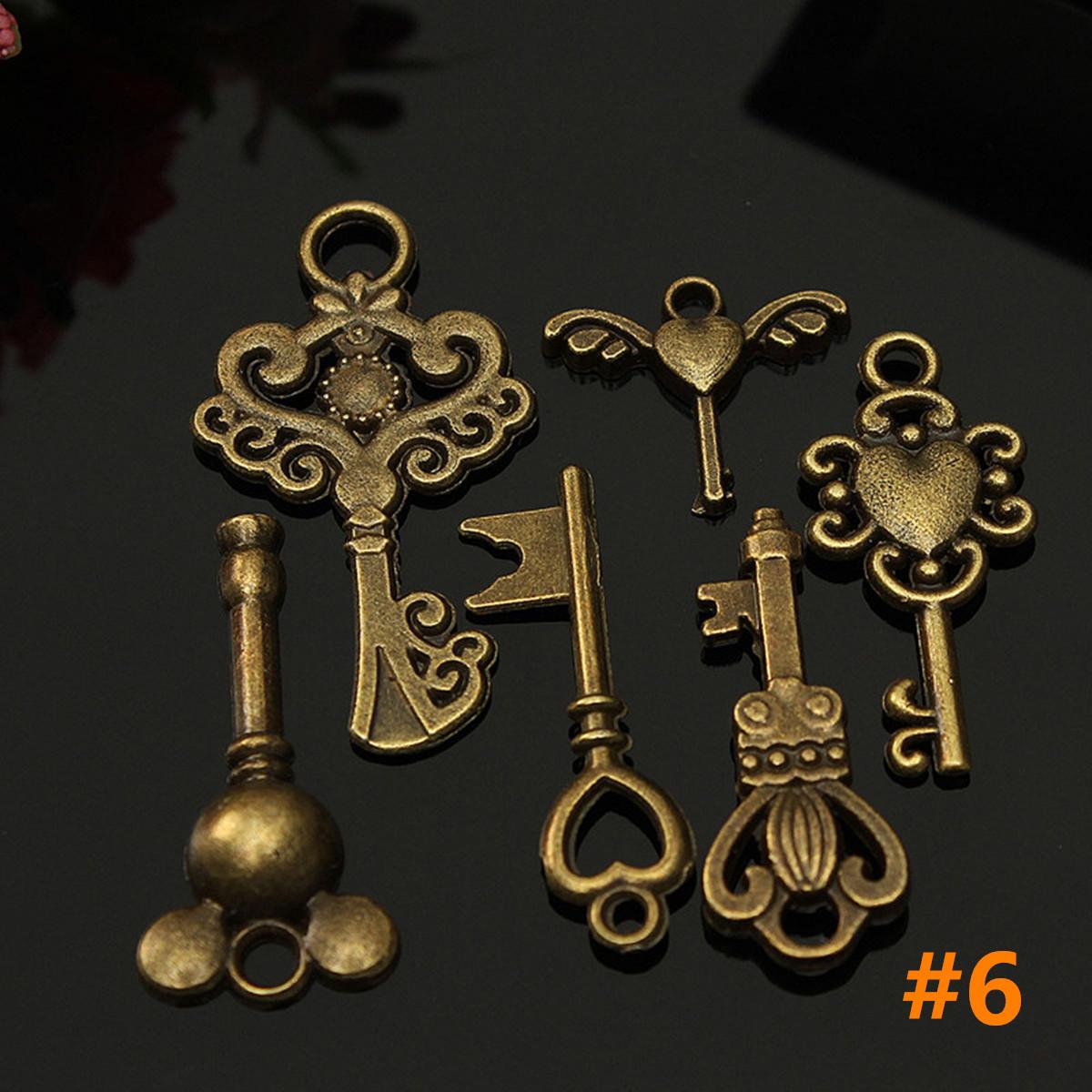 vintage style key set - photo #21