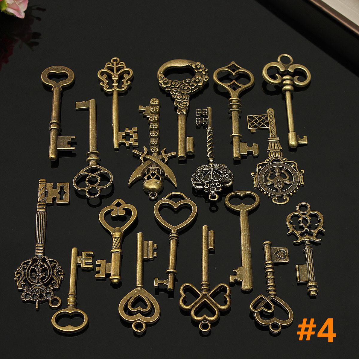 vintage style key set - photo #16