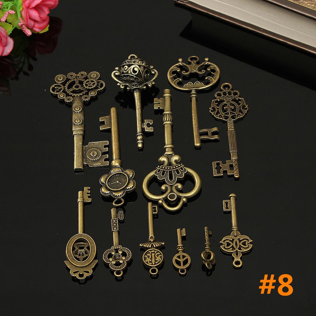 vintage style key set - photo #26