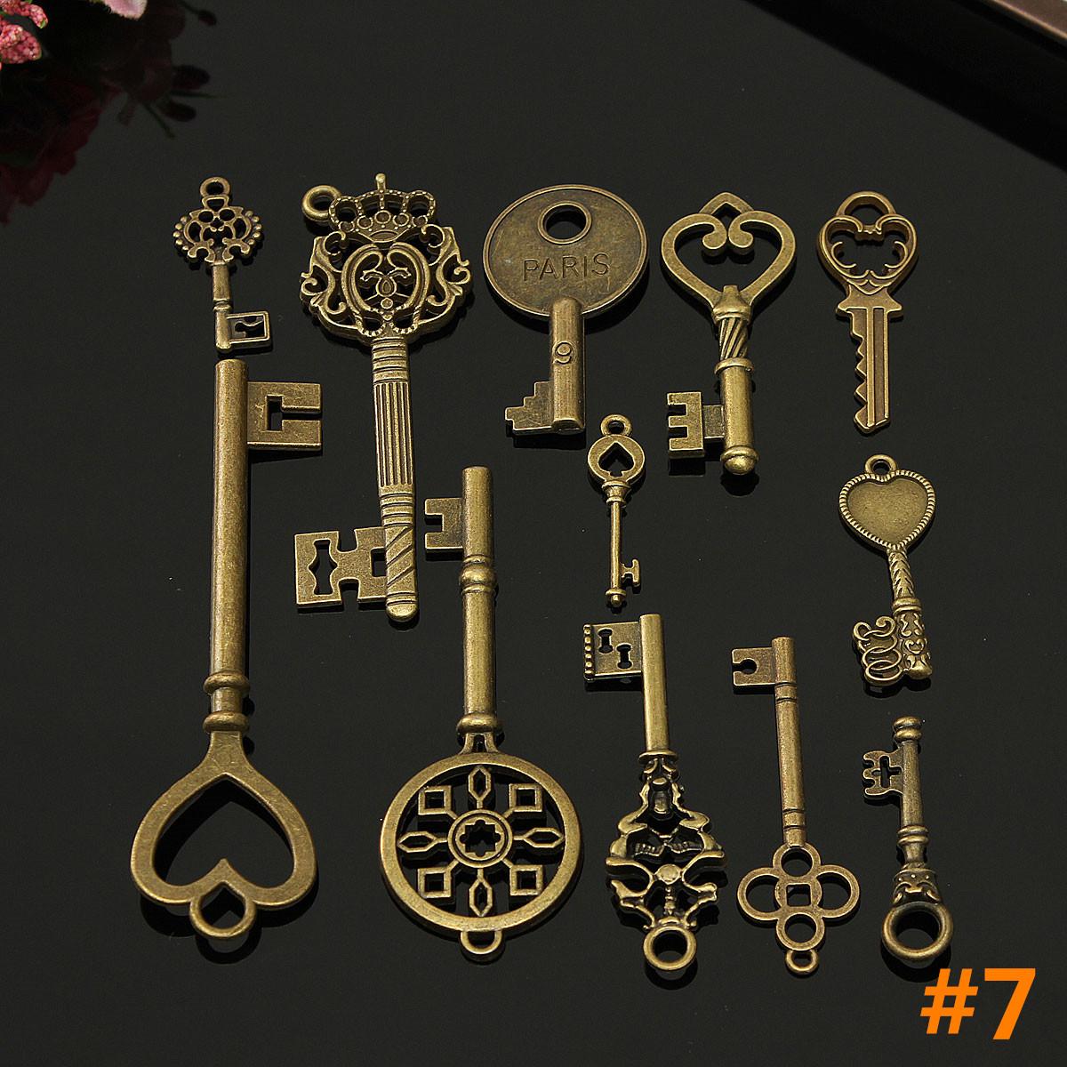 vintage style key set - photo #5