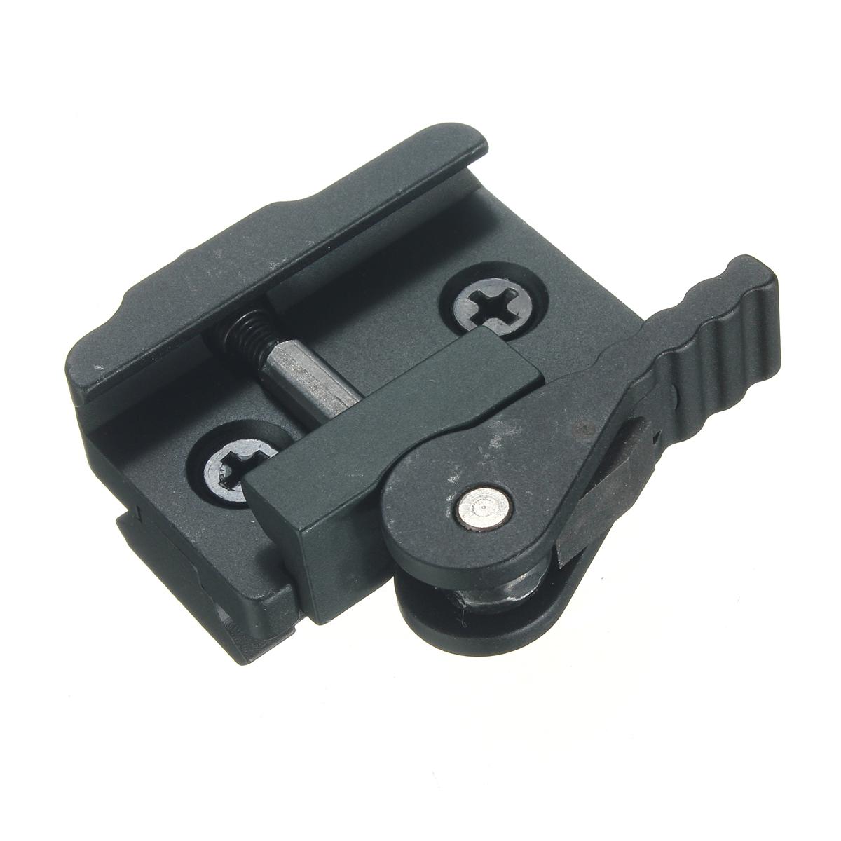 Aluminum compact tactical qd quick release mount adapter