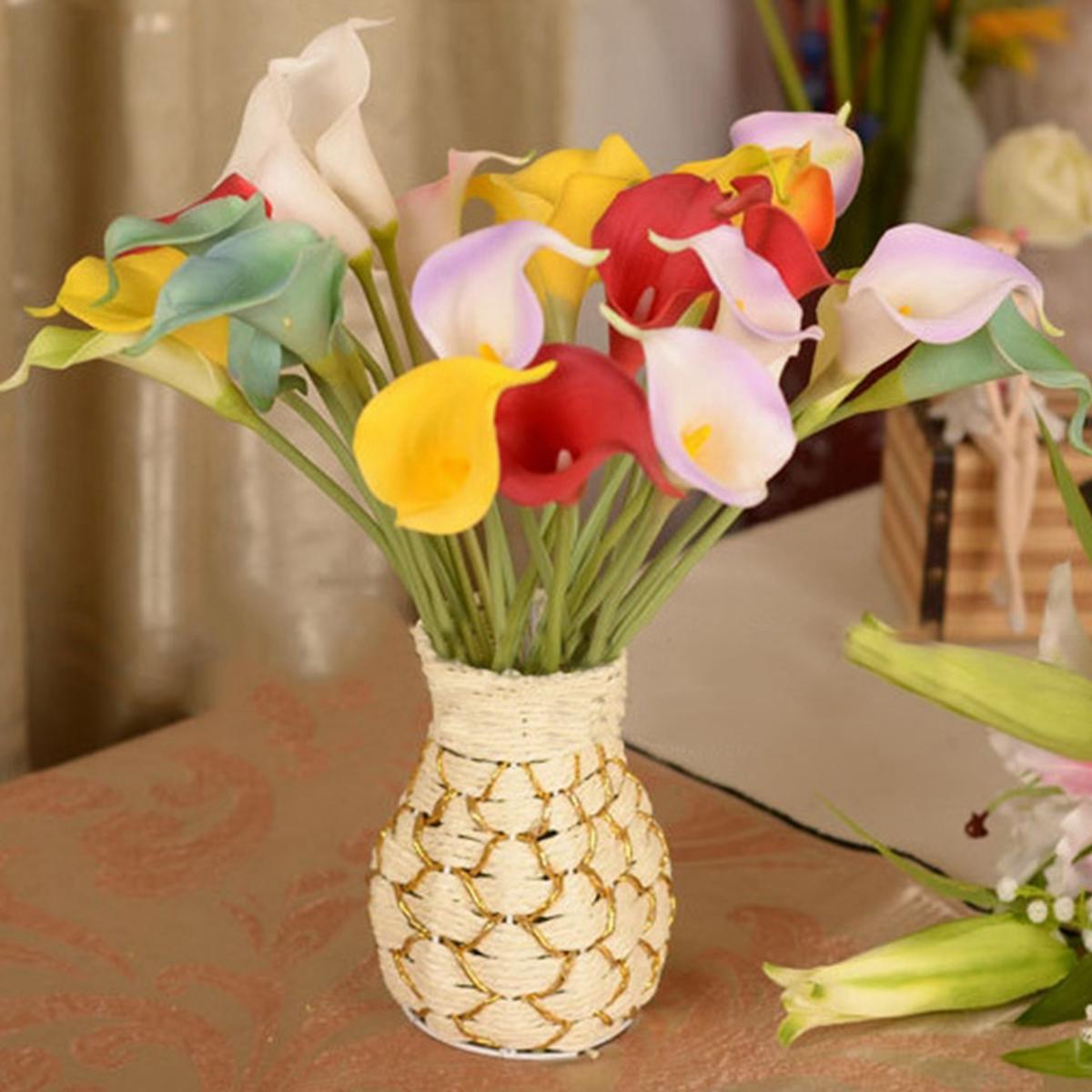 Bouquet de fleurs artificielle hortensia soie d coration mariage maison soir - Decoration fleur mariage ...