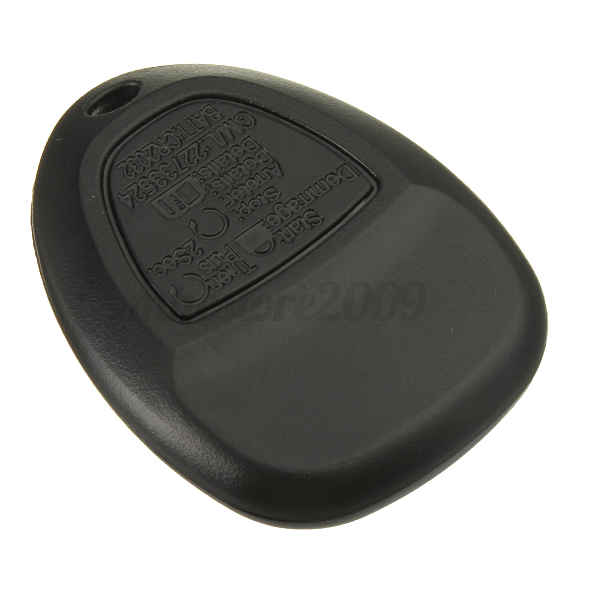 5 Buttons Remote Key Case Shell Fob W Rubber Pad For Gm Buick Chevrolet Pontiac Ebay