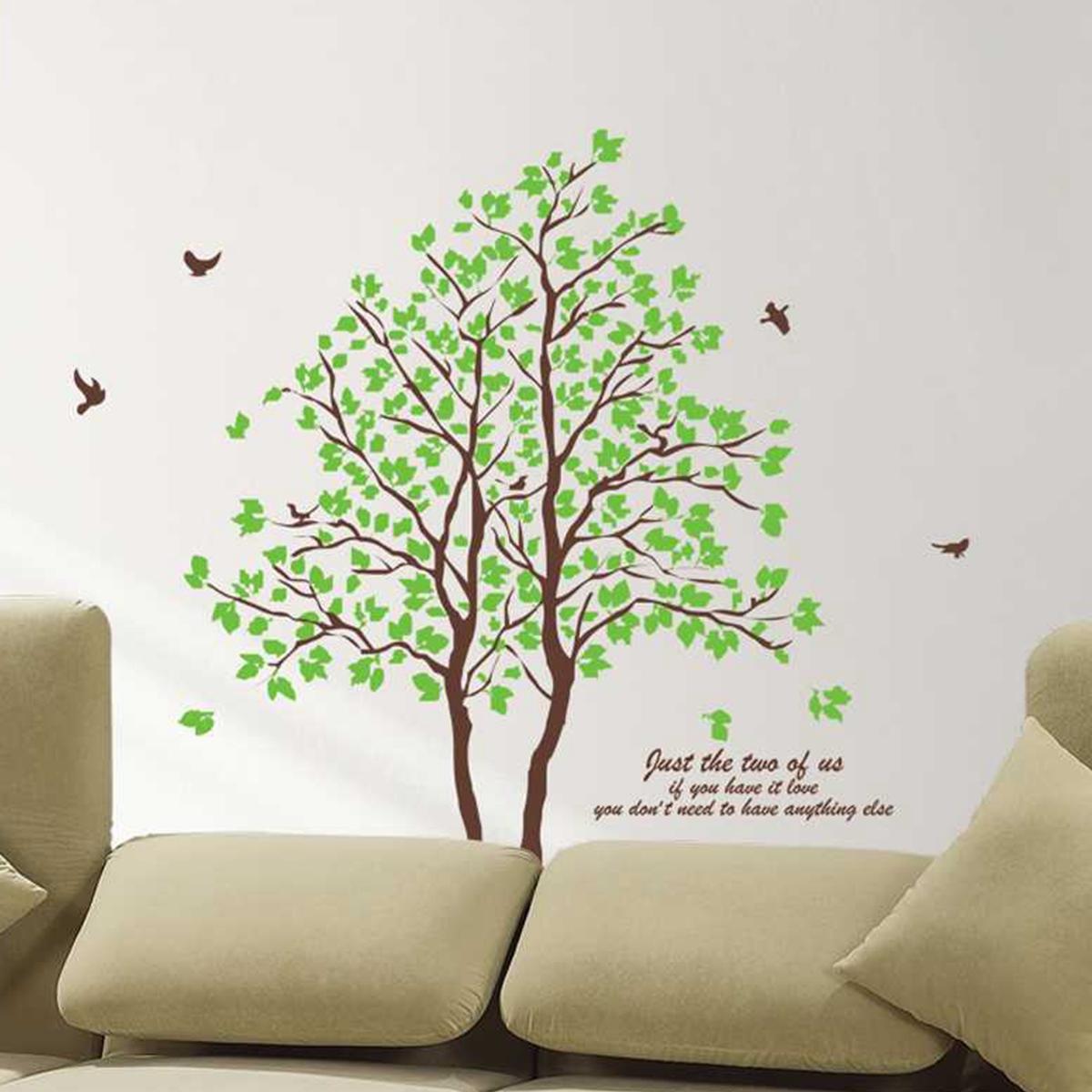 Arbre amoureux sticker mural autocollant d coration maison for Autocollant mural arbre