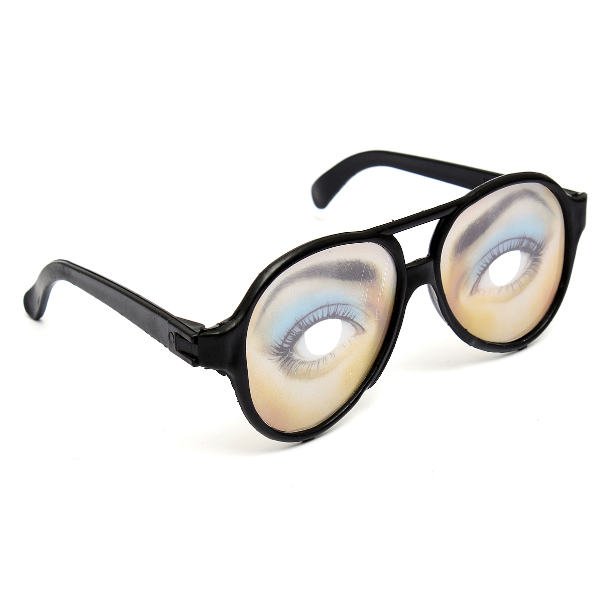 eye glasses big frame joke fancy dress