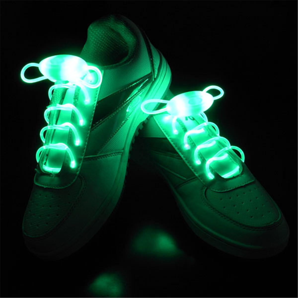 led lumineux clignotant lacets de chaussures biker lacet s curit shoelace ebay. Black Bedroom Furniture Sets. Home Design Ideas