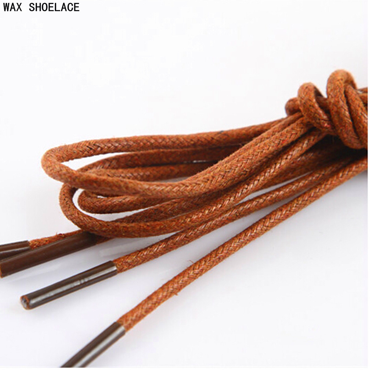 waxed cotton thin cord dress cotton shoe boot laces