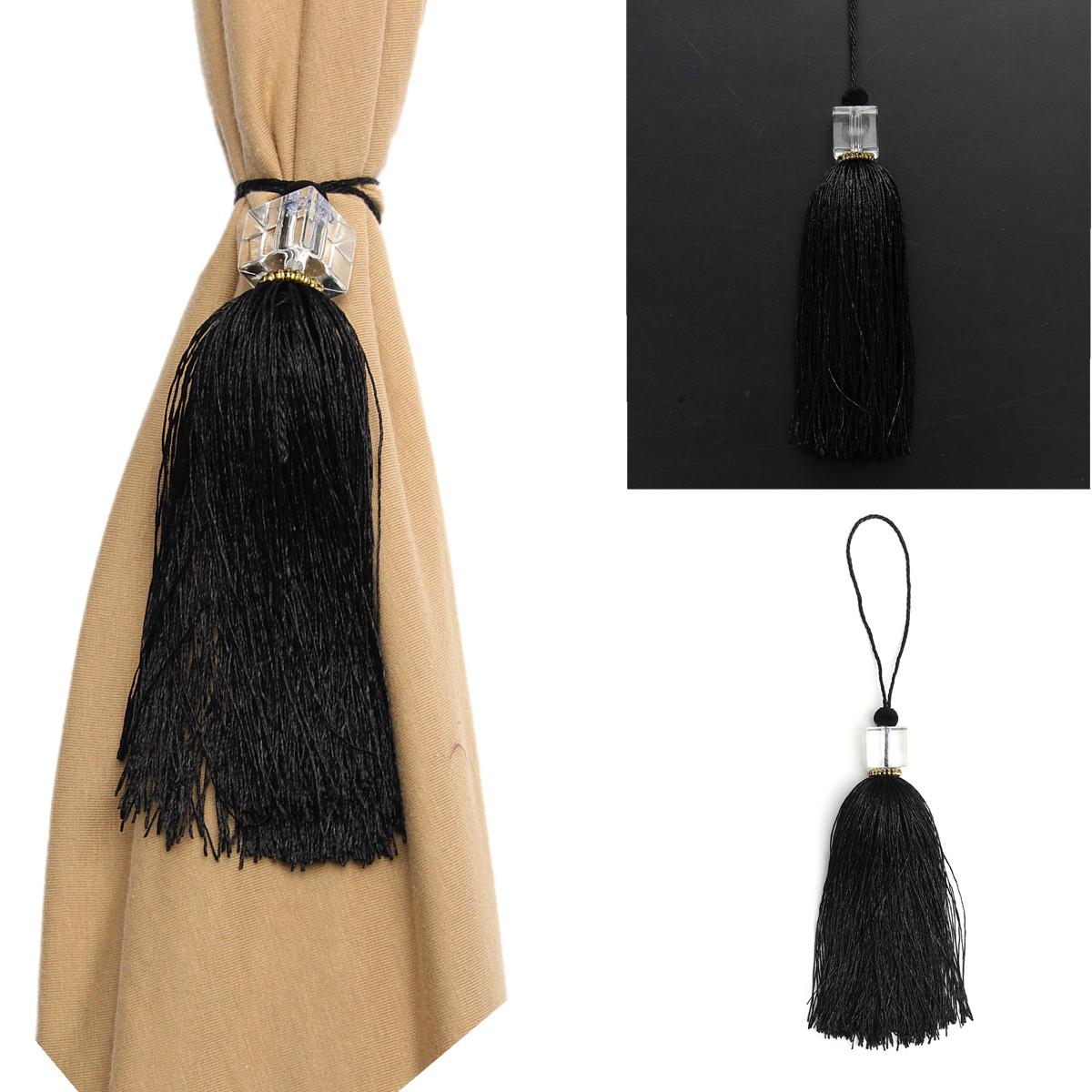embrasse attache rideau pompon frang cristal perl pr maison chambre decoration ebay. Black Bedroom Furniture Sets. Home Design Ideas
