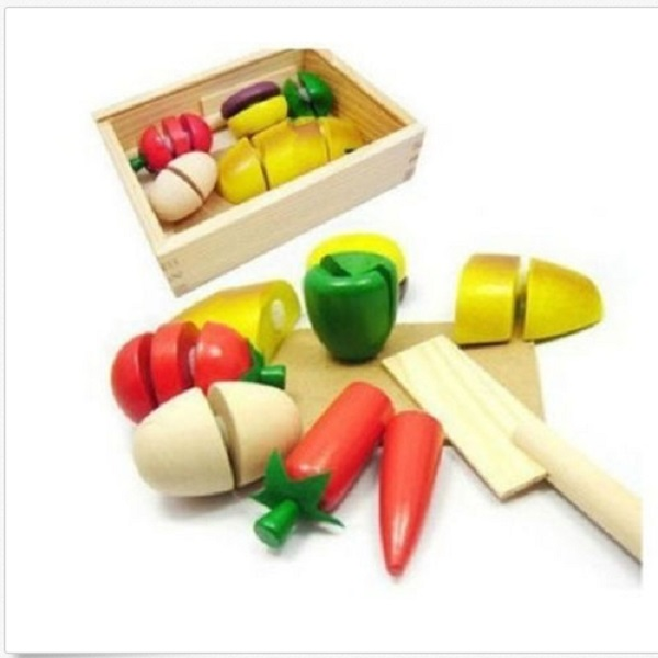 kids pretend role play kitchen fruit vegetable food toy. Black Bedroom Furniture Sets. Home Design Ideas