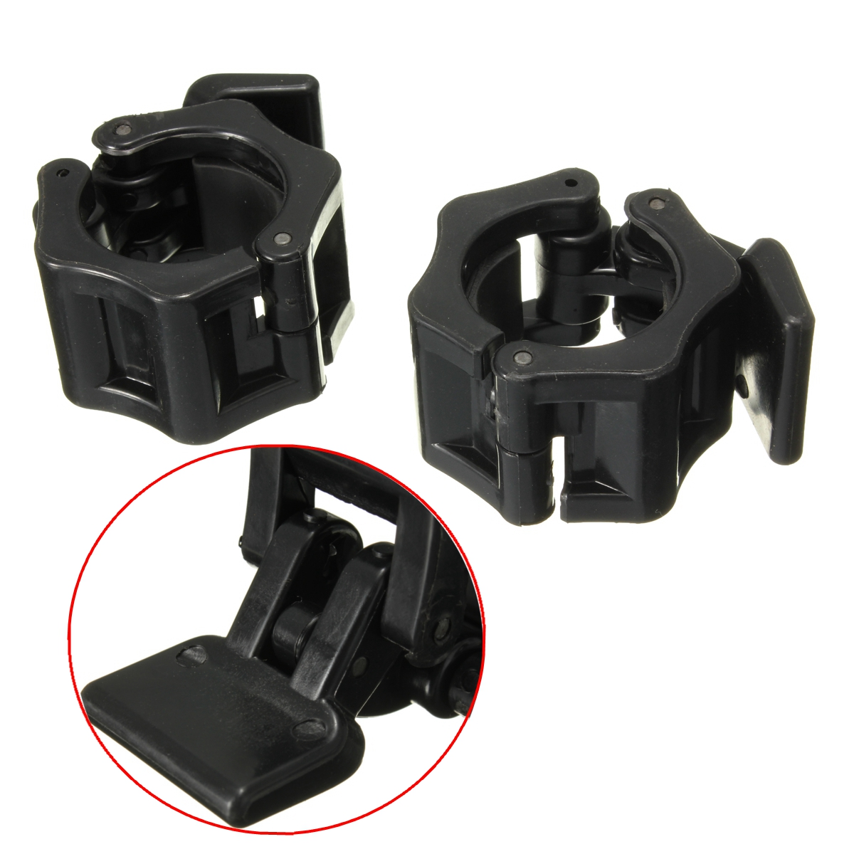 Inch mm standard barbell collar clamp dumbbell gym