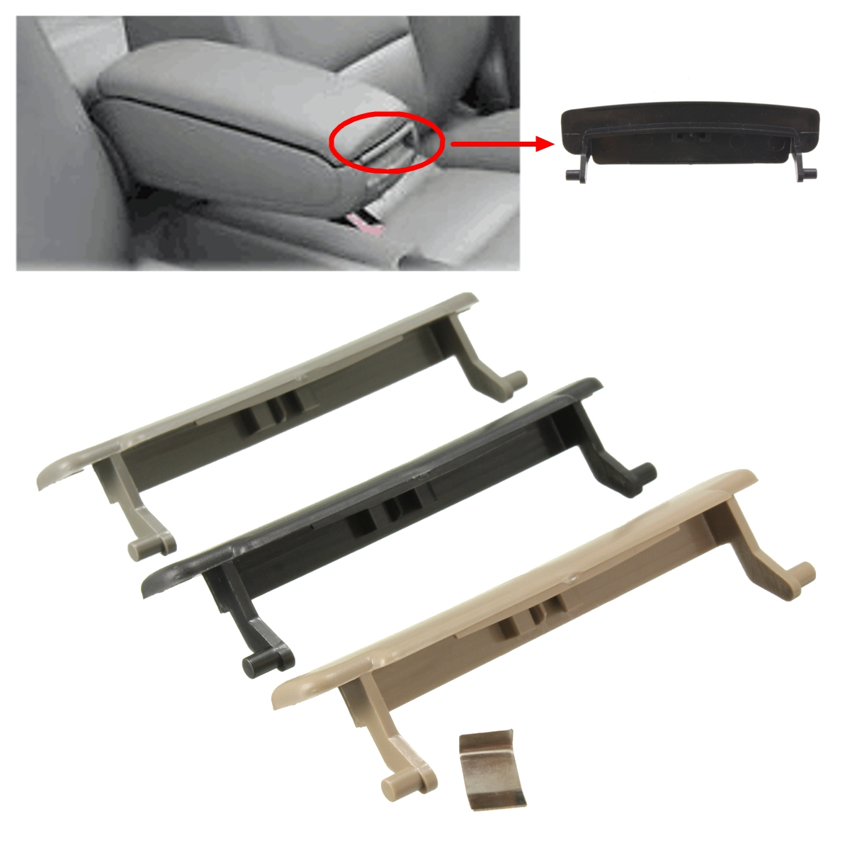 New Armrest Center Console Arm Rest Lid Cover For Audi A4 B7 A4l 2002 2007) Ebay