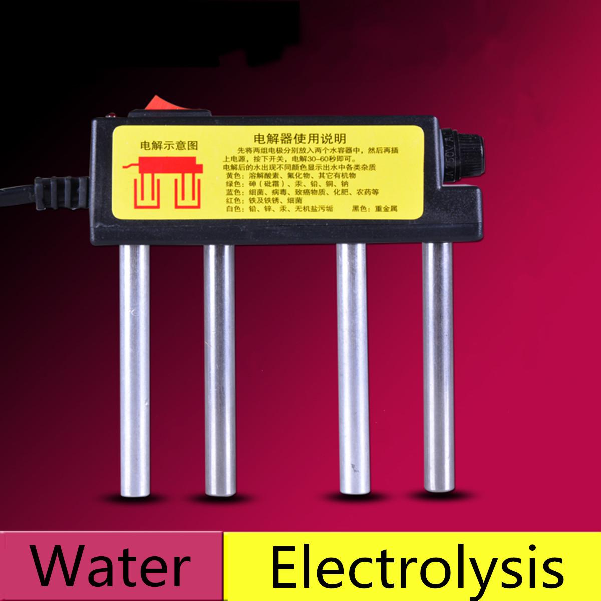 220v elektrolyseger t elektrolyse wassertester f r osmose. Black Bedroom Furniture Sets. Home Design Ideas
