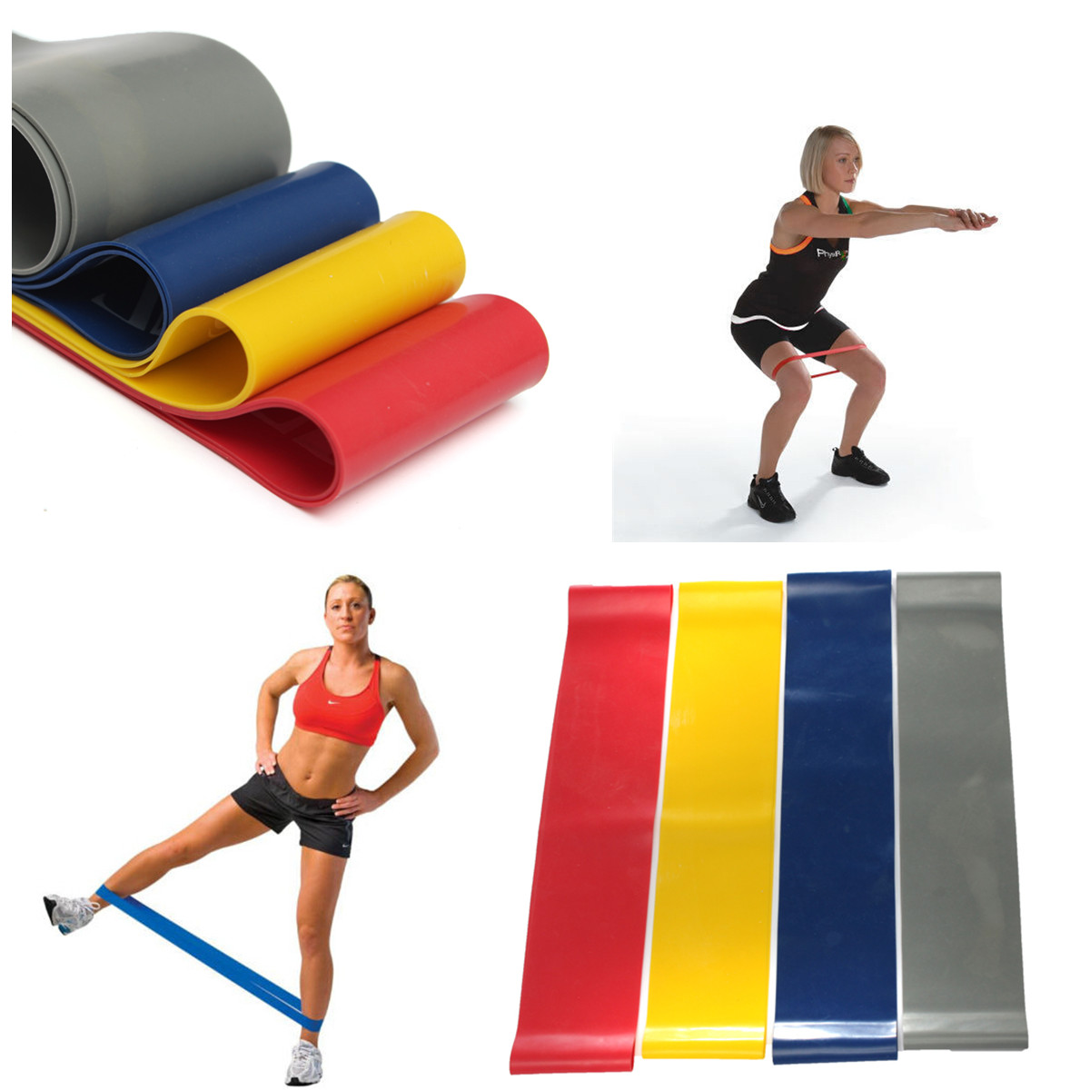 Resistance Band Exercise Loop Crossfit Strength Weight