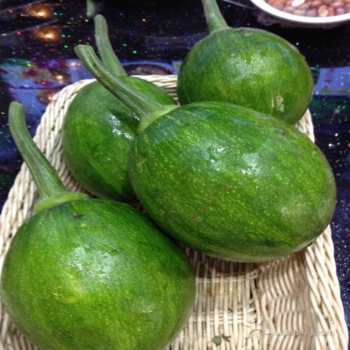 Green Courgette Zucchini Seeds Vegetable Melon And Fruit ...