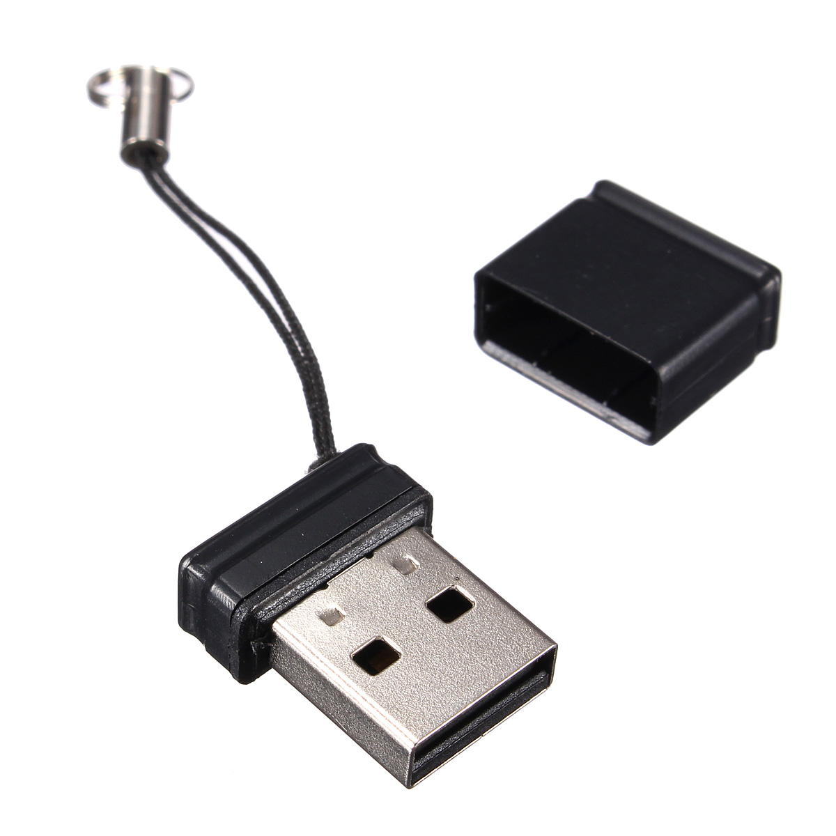 8gb 8 gb usb 2 0 speicherstick flash drive memory stick mini schwarz datenstick ebay. Black Bedroom Furniture Sets. Home Design Ideas