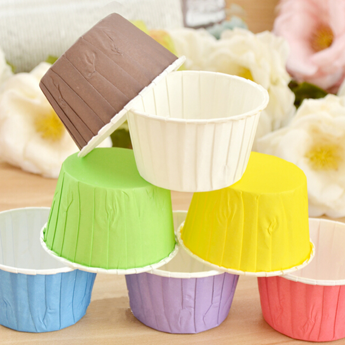 how to use paper baking cups