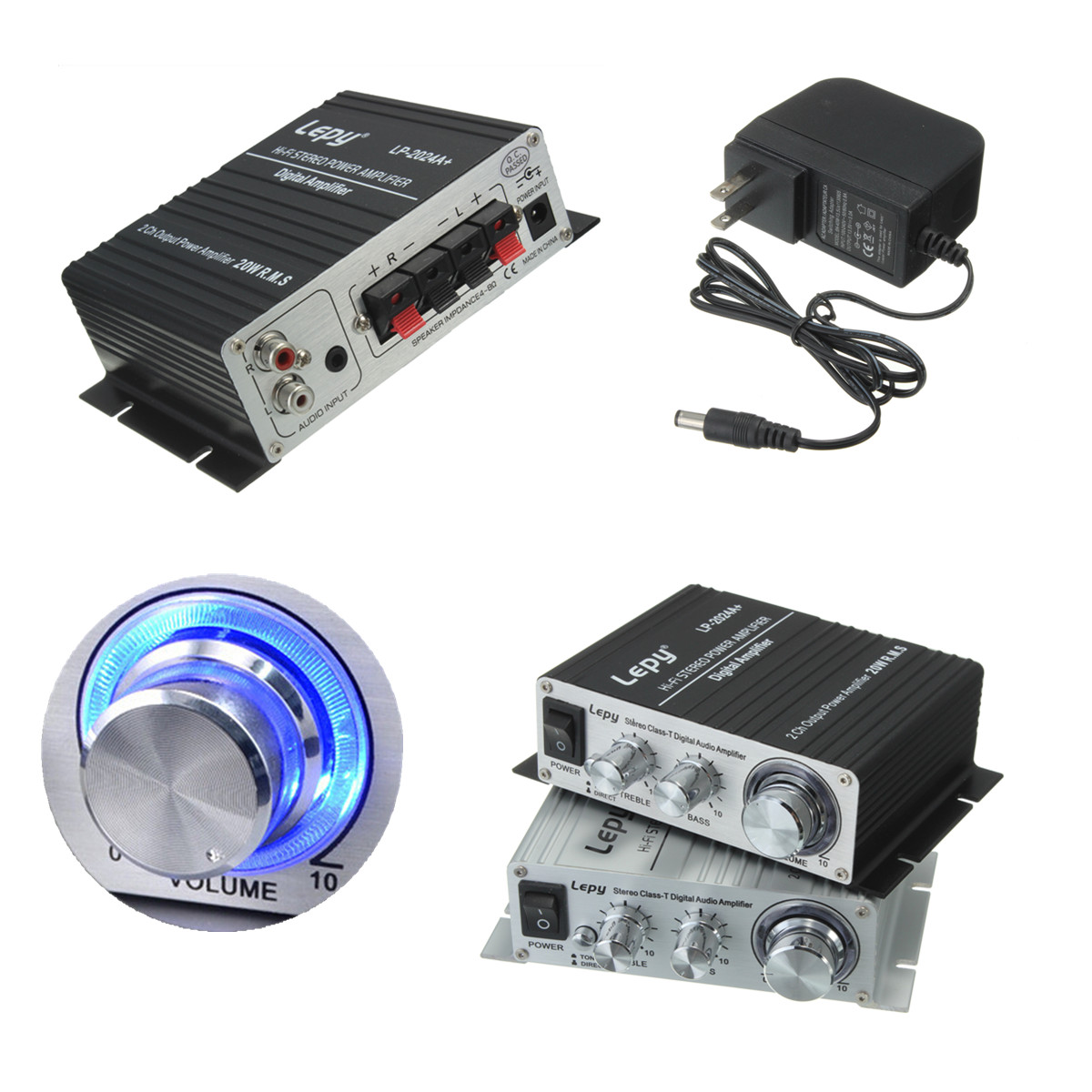 12v digital stereo audio voiture amplificateur led usb sd hifi mp3 haut parleur ebay. Black Bedroom Furniture Sets. Home Design Ideas