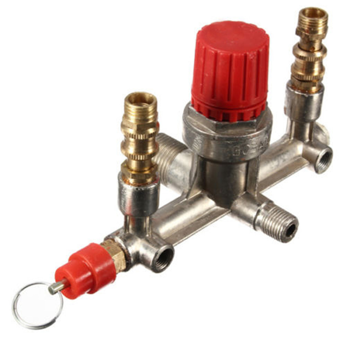 regulator heavy duty air compressor pump pressure control switch valve gaug. Black Bedroom Furniture Sets. Home Design Ideas