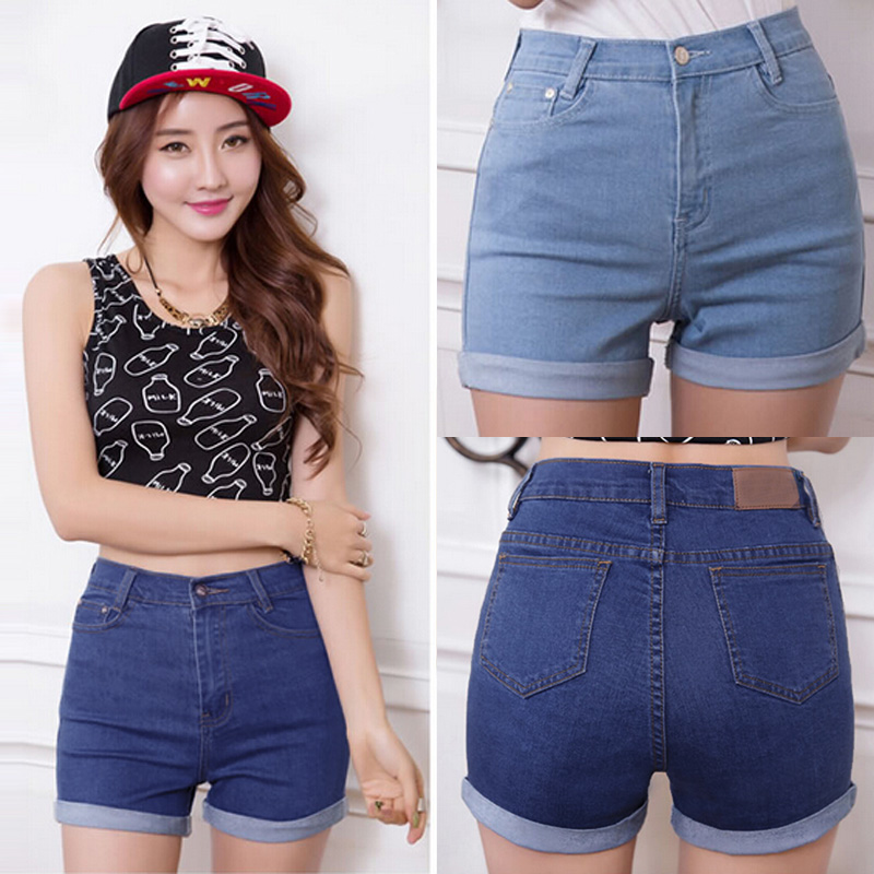 Chic Women Sexy High Waist Denim Jeans Summer Hot Pants Shorts ...