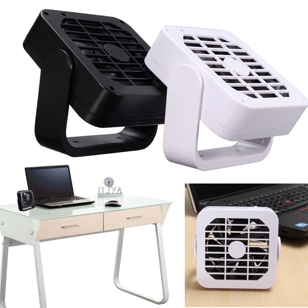mini portable super mute usb desk fan cooler cooling desktop notebook laptop pc ebay. Black Bedroom Furniture Sets. Home Design Ideas