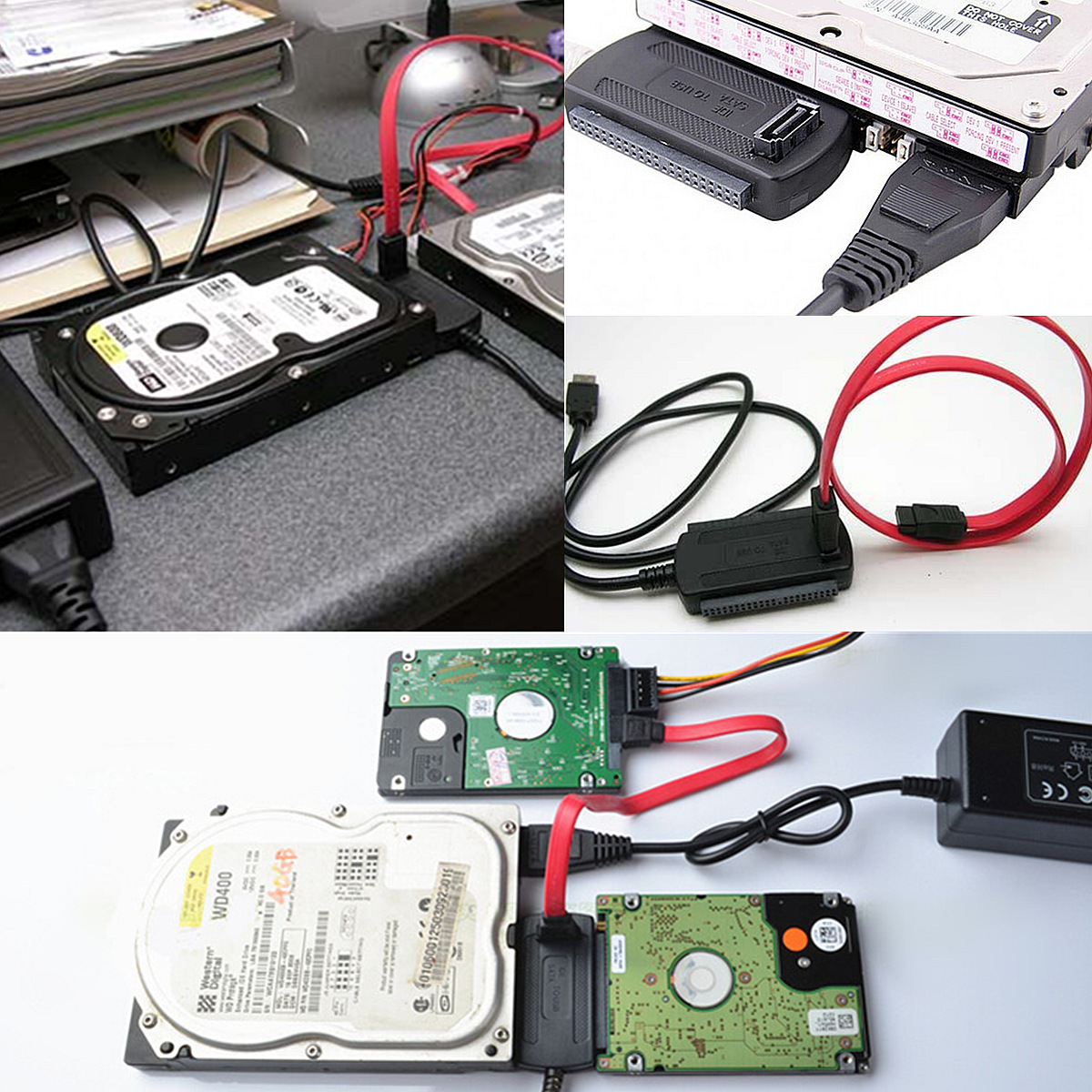 sabrent usb 2.0 to sata ide hard drive adapter instructions