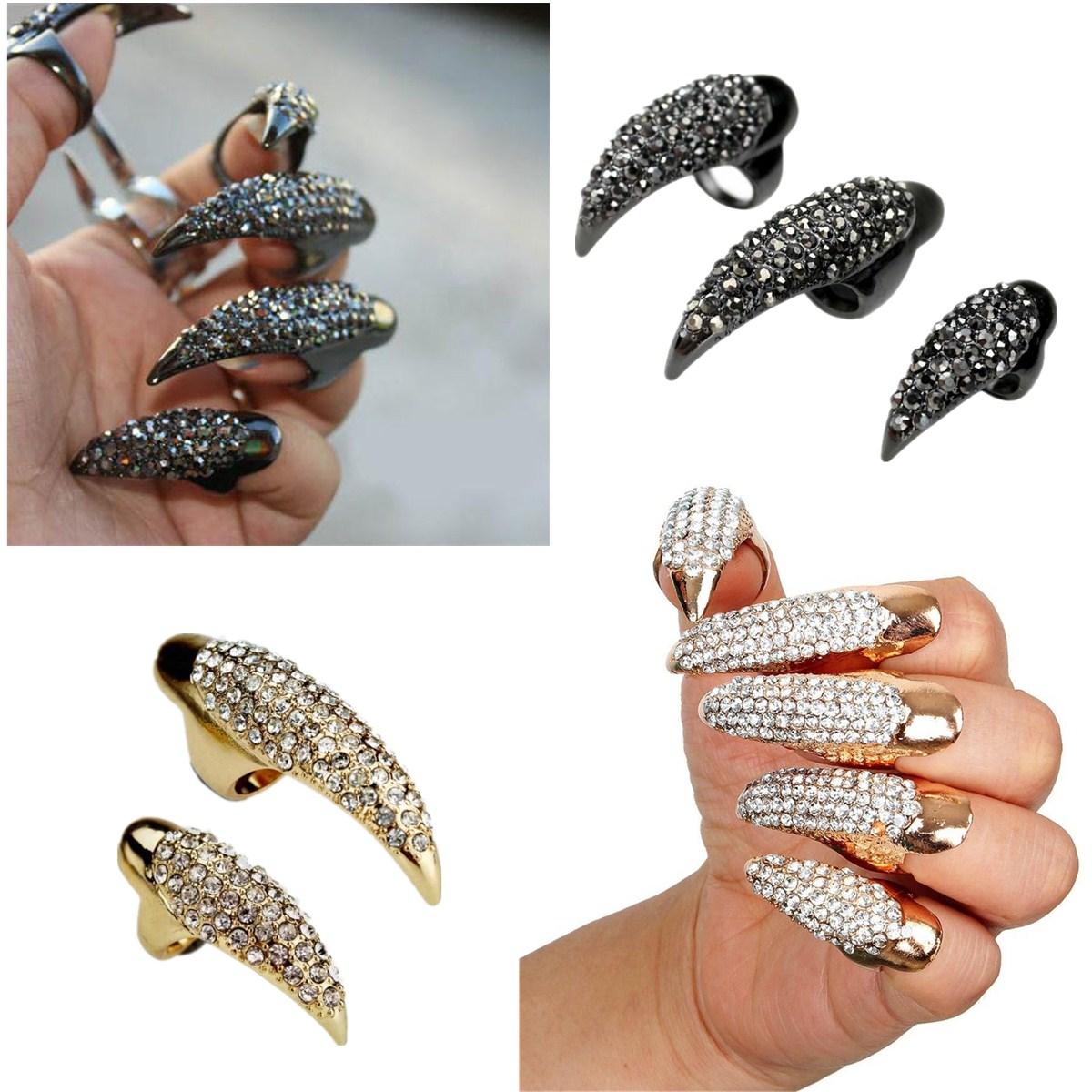 Armored Finger Rings