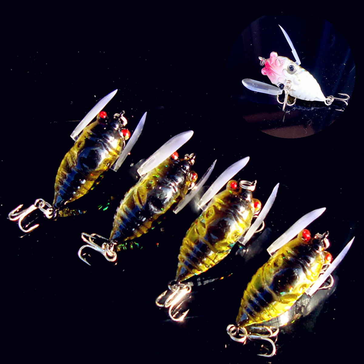 Flashabou fly tying material lure tying lure making 1 69 for Fly fishing lures
