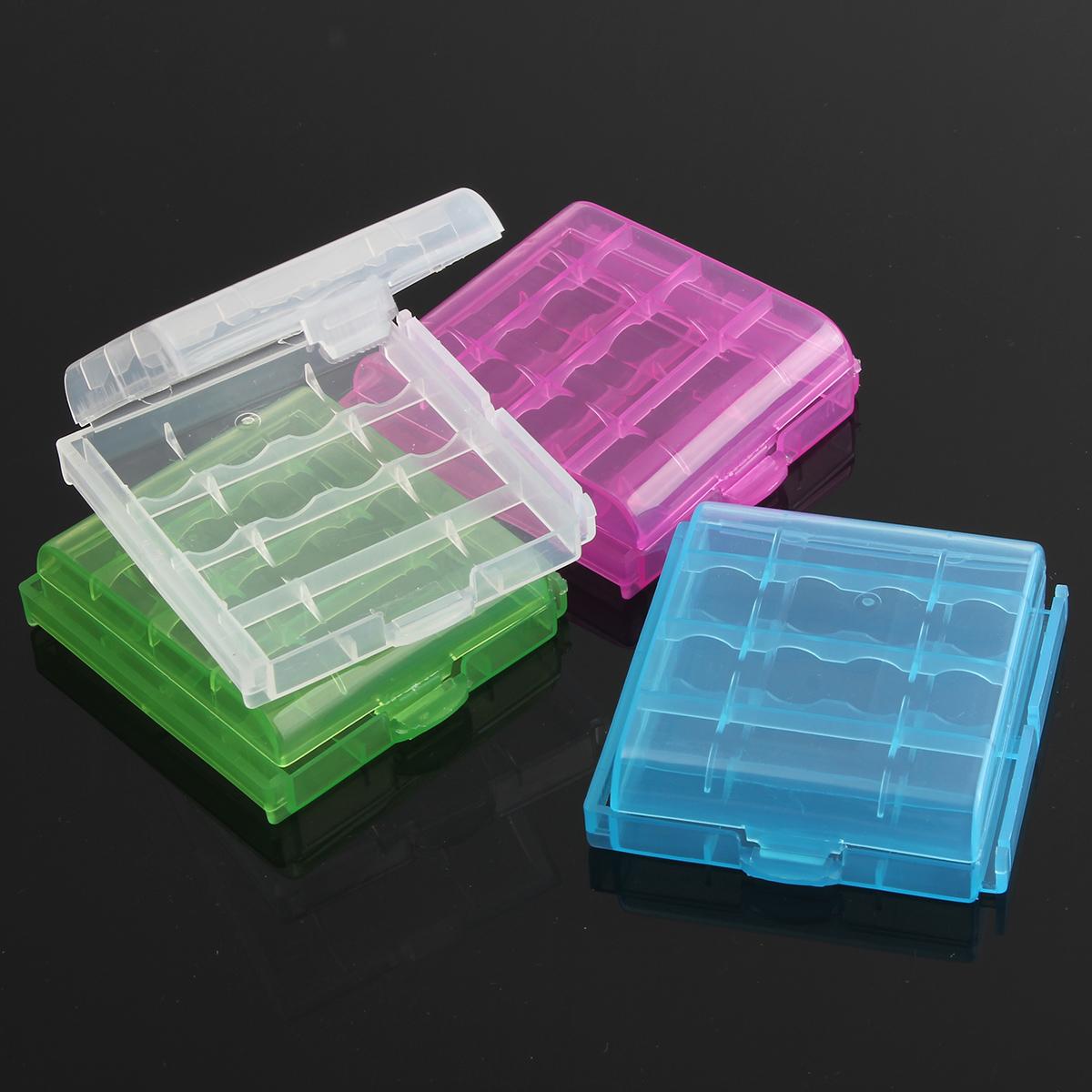 12v plastica 8xaa batteria battery holder storage box caso for Porta batteria 9v