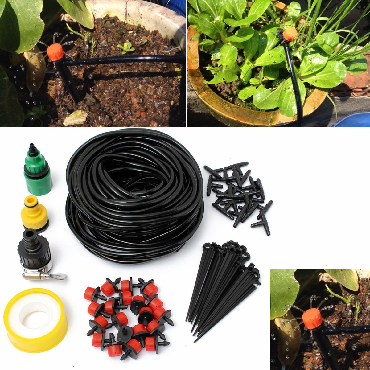 DIY Micro Drip Irrigation System Auto Flow ...