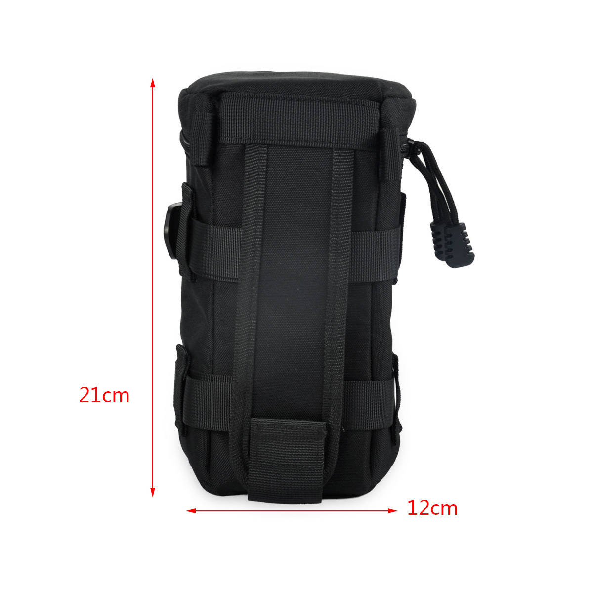 Camera Travel Pouch : Universal camera lens protector pouch case bag with belt