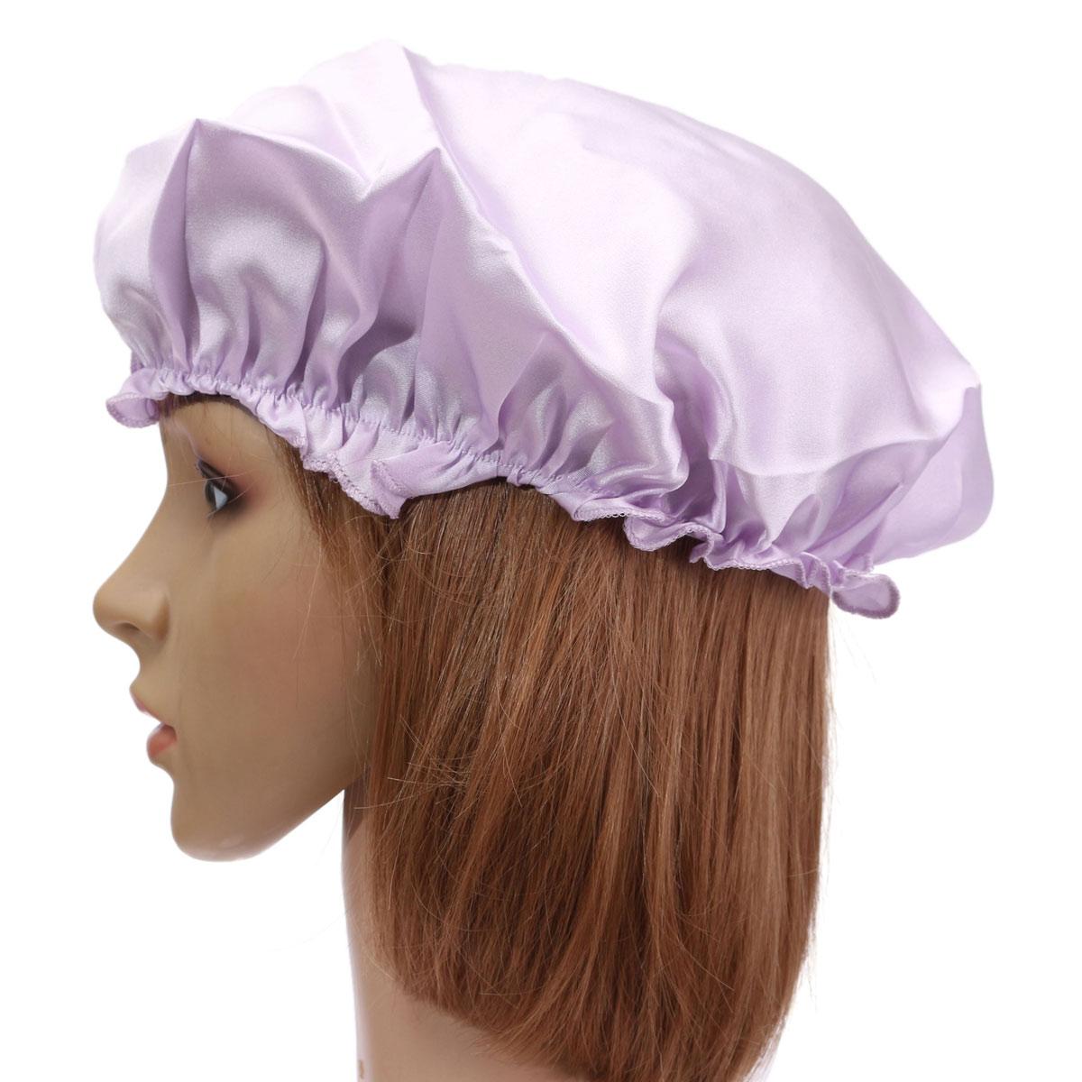 Womens Soft Pure 100 Silk Sleeping Cap Night Sleep Hat