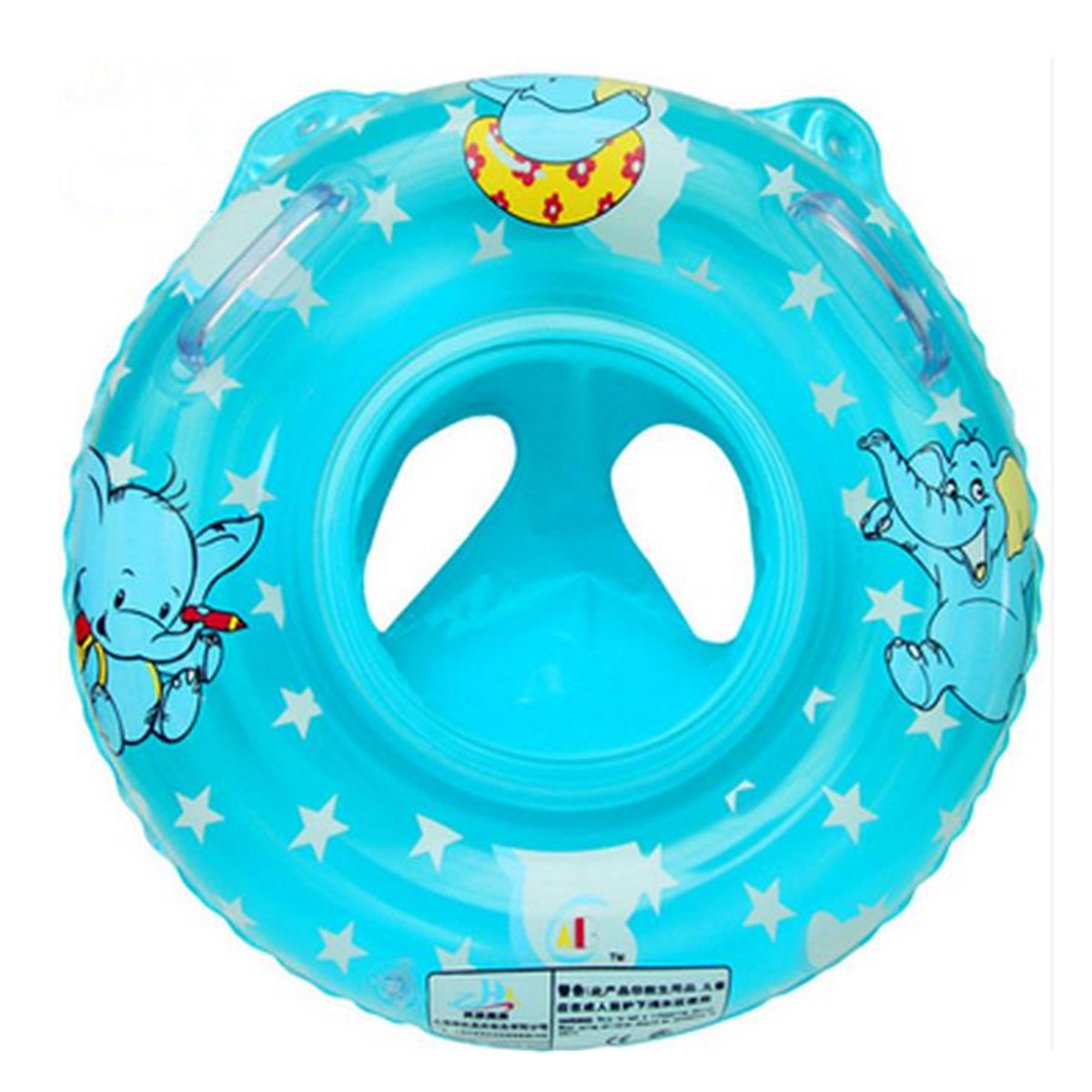Inflatable Swimming Ring Seat Handles Toddler Baby Safety Aid Float Pool Toy Ebay