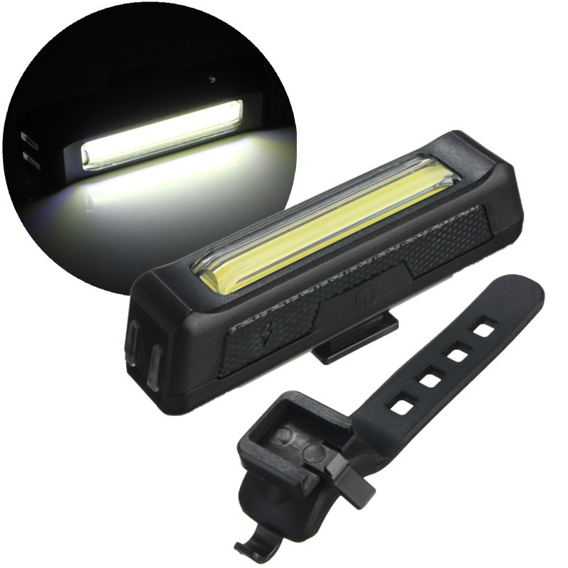 bicycle bike front rear tail usb rechargeable led light 6 modes useful new ebay. Black Bedroom Furniture Sets. Home Design Ideas