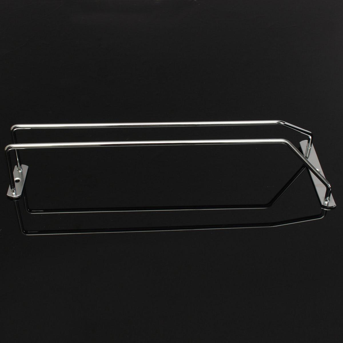 1 range support rangement verres pied fl tes porte verres chrome etag res 35cm ebay. Black Bedroom Furniture Sets. Home Design Ideas