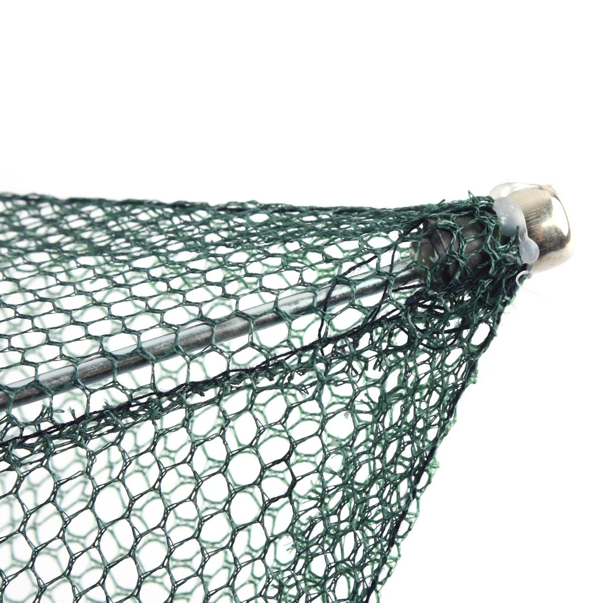 100 100cm bourriche panier filet cage epuisette en nylon vert pour p che poisson ebay. Black Bedroom Furniture Sets. Home Design Ideas