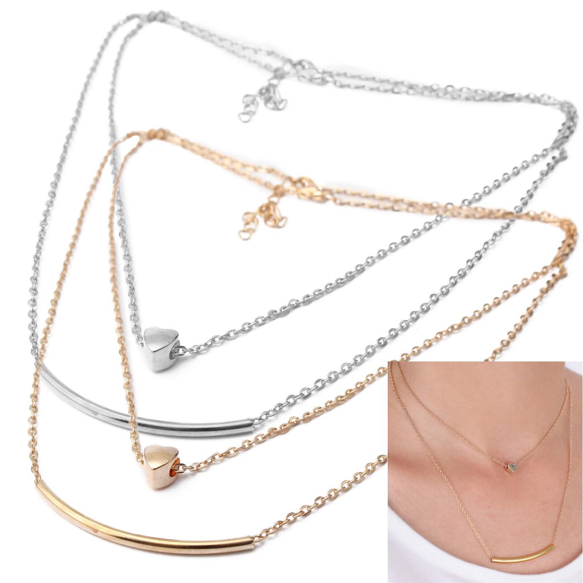 Women Lady Crystal Rhinestone Heart Bangle Silver Plated ...