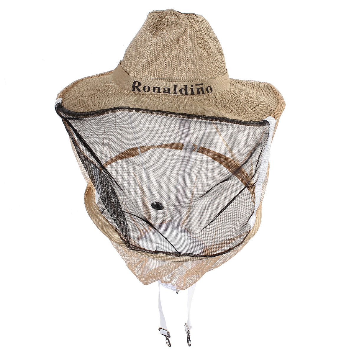 Beekeeping Garden Guard Cowboy Hat Anti Mosquito Bee Insect Bug Head Face Veil