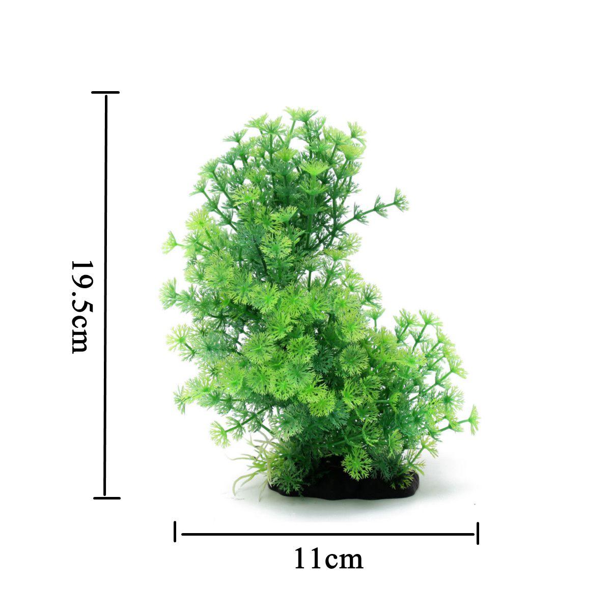20 Type Artificial Plastic Water Plants Landscape For Aquarium Fish Tank Decor Ebay