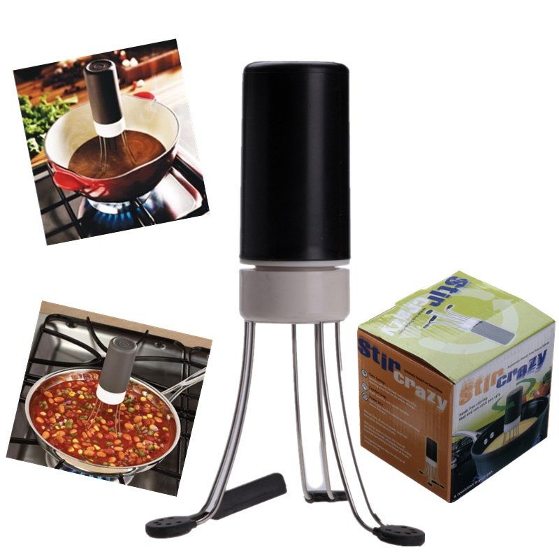 kitchen utensil stir automatic hands free robo blender food sauce auto stirrer ebay. Black Bedroom Furniture Sets. Home Design Ideas