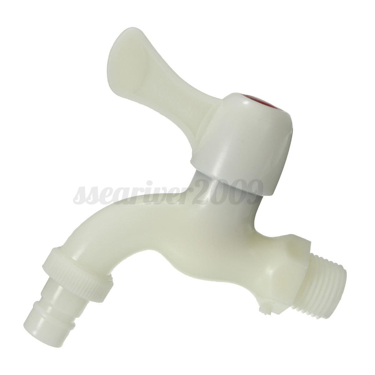 Kitchen Sink Outlet: Home Garden Kitchen Sink Basin Outlet Plastic White Thread