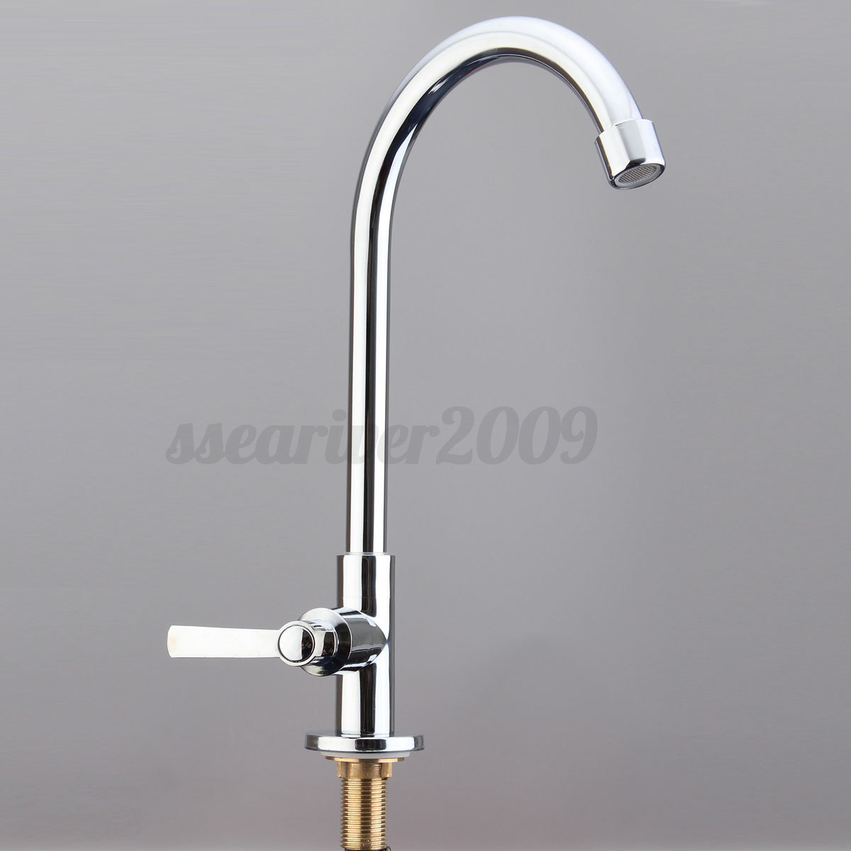 Chrome bathroom kitchen faucet water wash basin sink tap single lever with hose ebay - Connect hose to sink ...