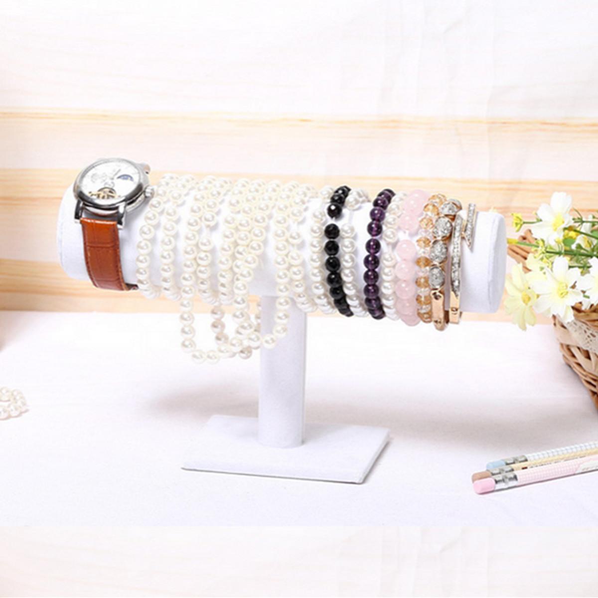 Image Is Loading White Diy Jewelry Bangle Bracelet Holder Organizer Watch