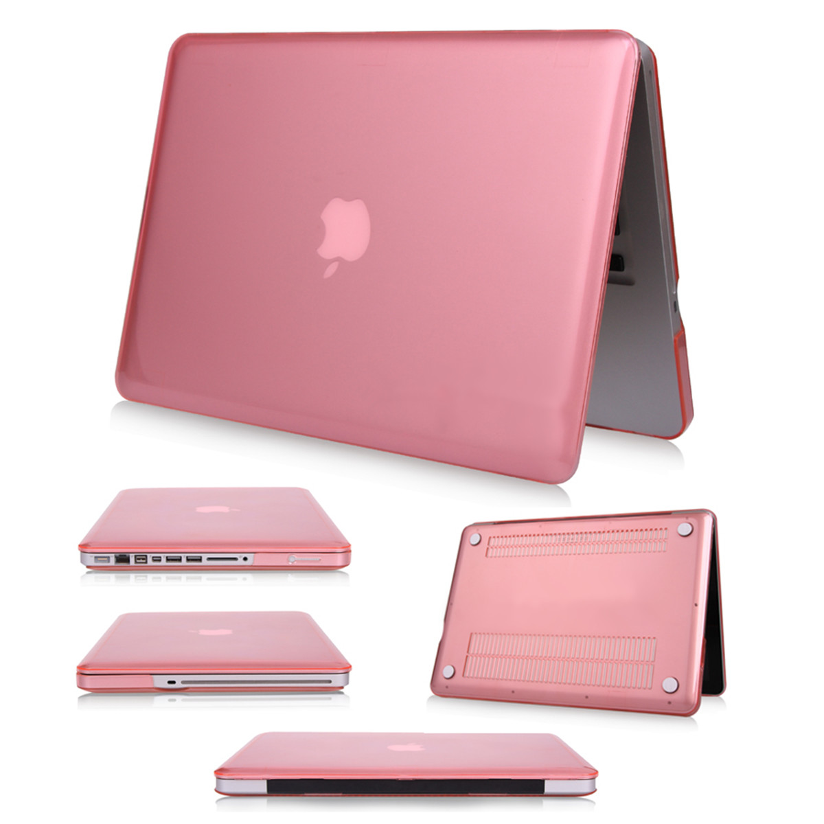 Crystal brillant transparent rigide coque etui housse pour for Housse macbook 12