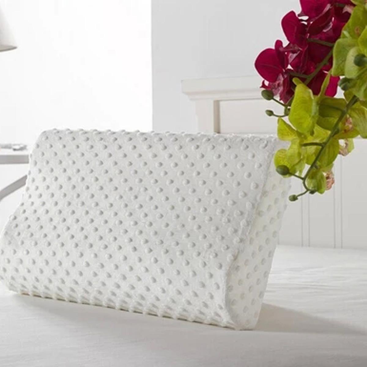 orthopaedic memory foam contour pillow firm head neck health