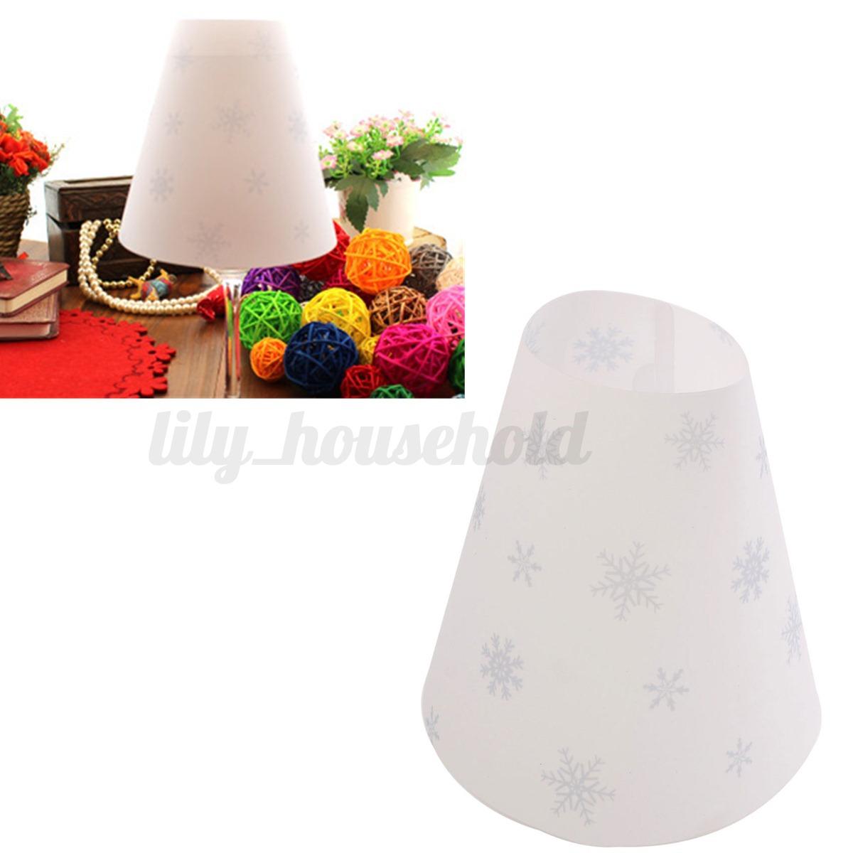 Deko lampenschirm ersatzglas tischlampe schirmf r glas for Teelicht deko