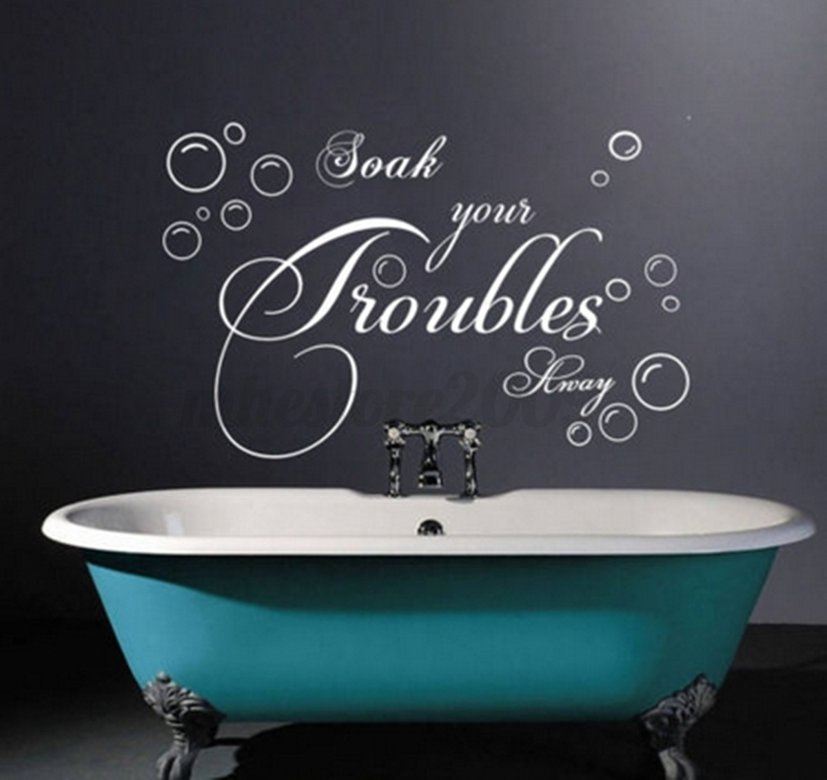 DIY Removable Art Poetry Quote Wall Mural Decal Decor Room ...
