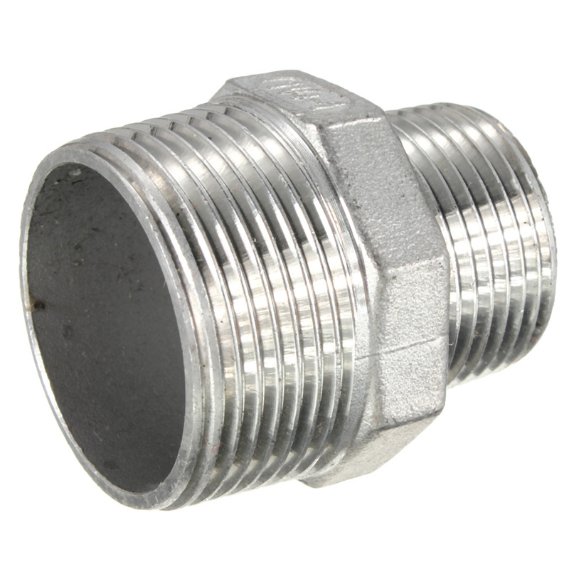 New npt male hex nipple threaded reducer pipe