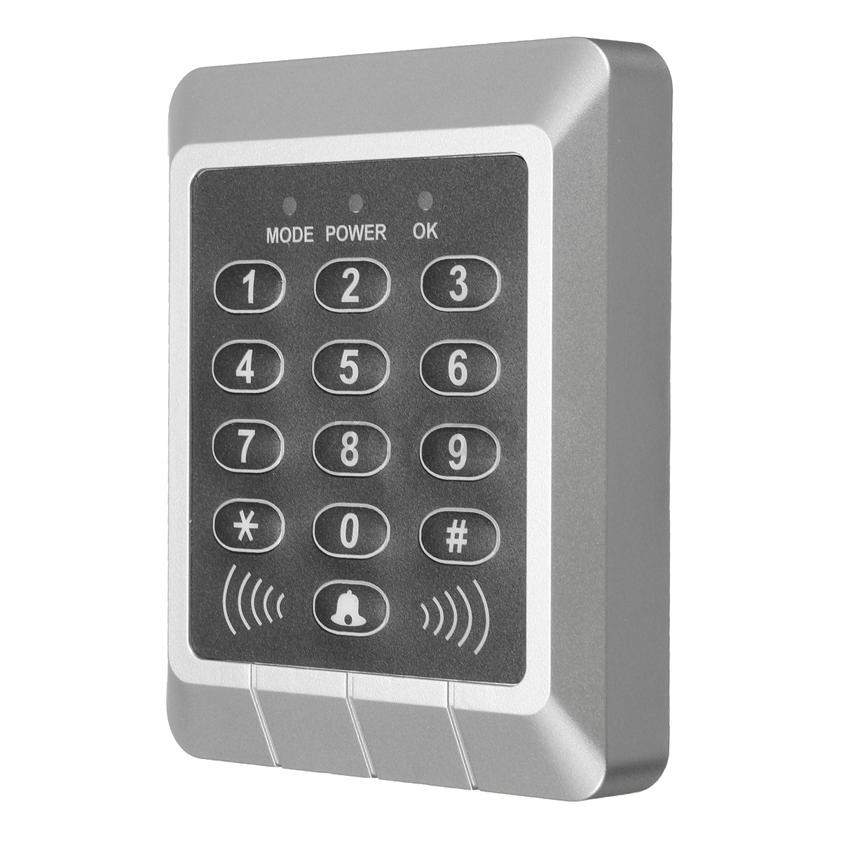 Rfid proximity entry door lock keypad access control for Door entry fobs